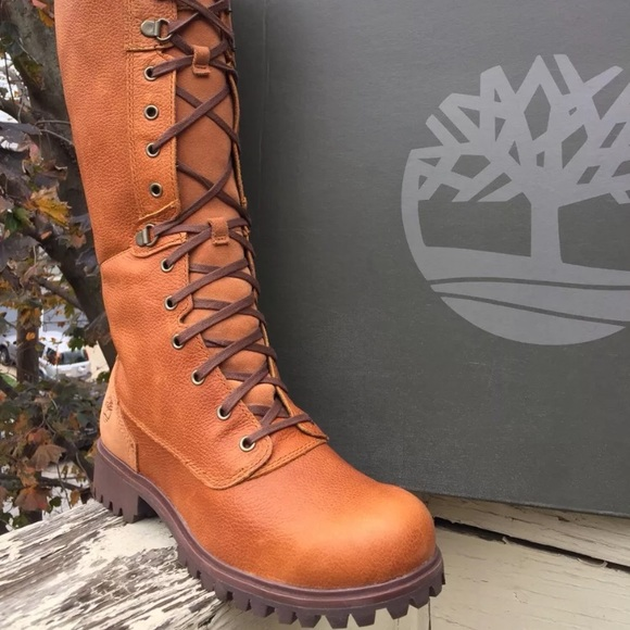 4596dcd7d800b Timberland Shoes | Womens Wheelwright Tall Laceup Waterp | Poshmark